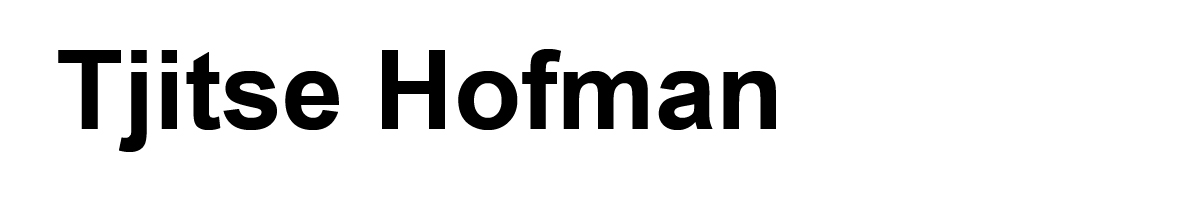 Tjitse Hofman